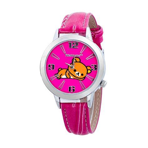 Jam Tangan Anak Rilakkuma jual rilakkuma rkfr1096 01b pink jam tangan anak harga kualitas terjamin blibli