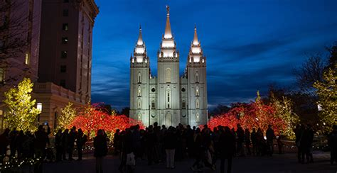 2017 Temple Square Lights And Concerts Church
