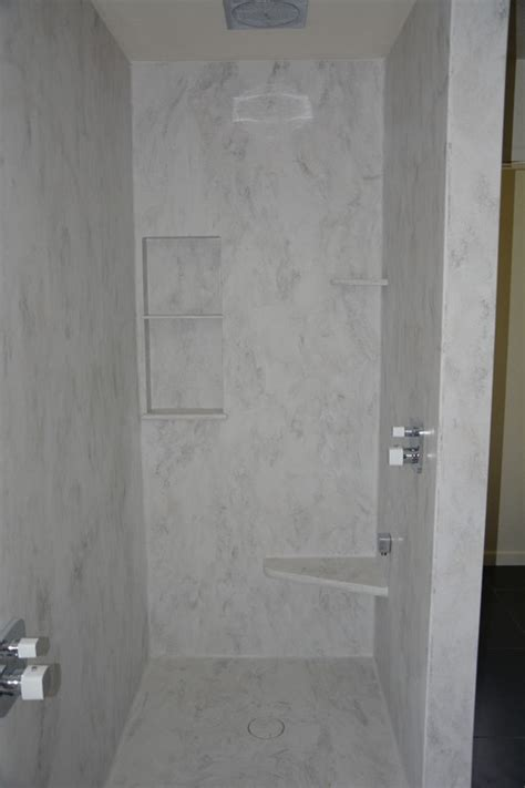 corian dusche custom corian shower