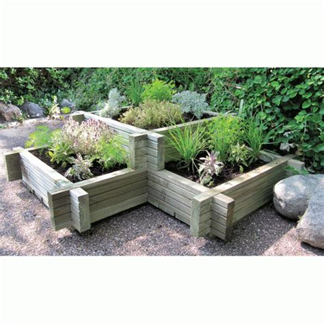 Corner Planter Boxes by Corner Planter