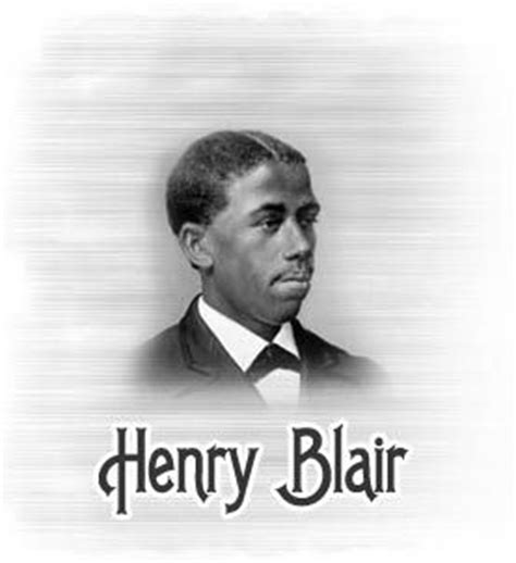Henry Blair Corn Planter by Henry Blair 1807 1860 Was The Second American