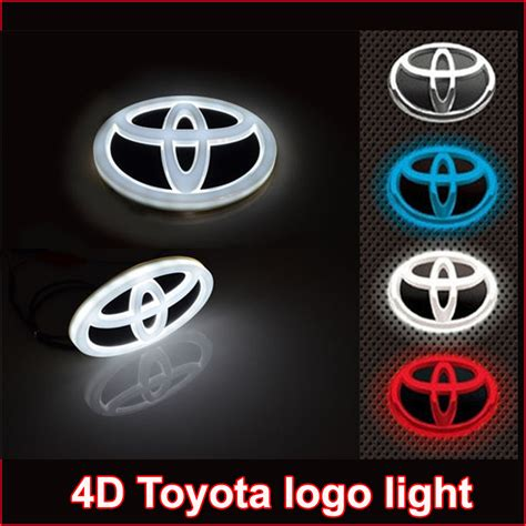 logo toyota yaris popular toyota led emblem buy cheap toyota led emblem lots