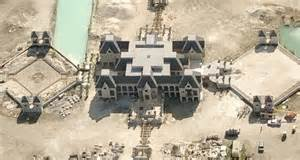 charles sieger magnificent miami castle surrounded by water damn cool