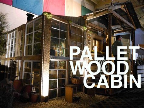 Cabin Blueprints Free by A Pallet Wood Potting Shed Potential For A Tiny House Or