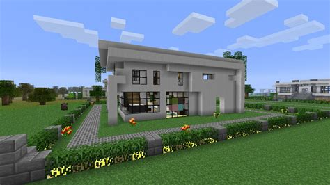 neighborhood house modern neighborhood house four download minecraft project