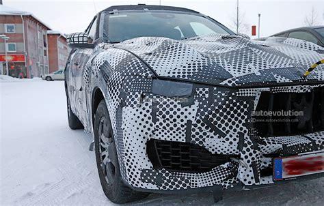 maserati trident car 2017 maserati levante spy shots reveal interior of the