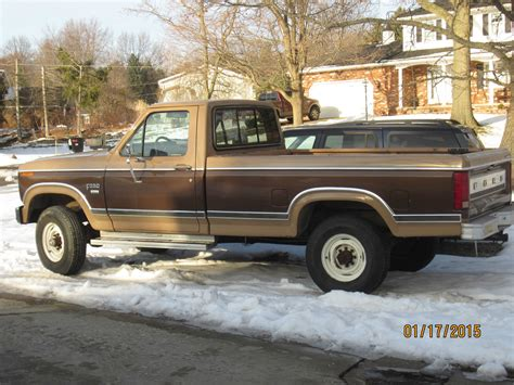 Ford F250 4x4 by 1984 Ford F250 4x4 1980 85 Ford Truck 6 9 Diesel Classic