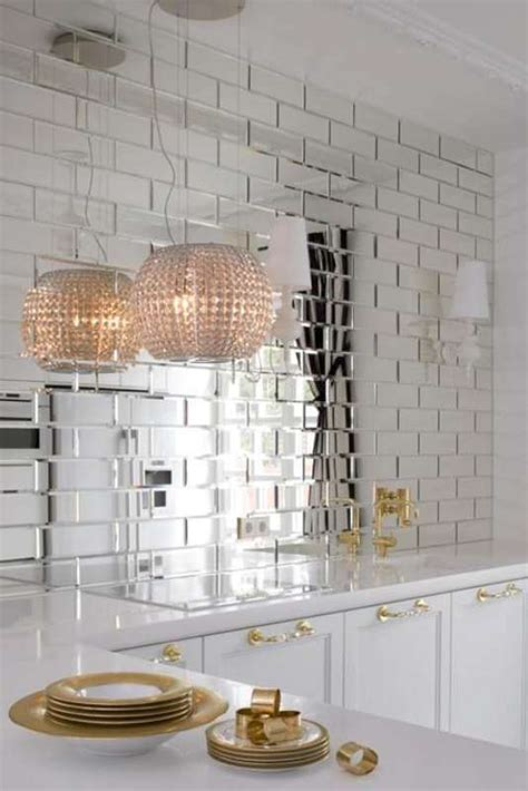 reflections glass mirror beveled wall tile bv tile  stone