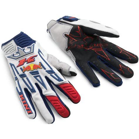 red bull motocross gear kini red bull 2011 competition motocross gloves