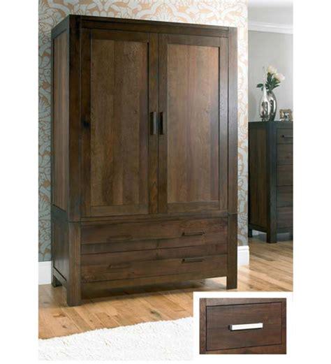 cayenne wooden wardrobe by mudra wardrobes