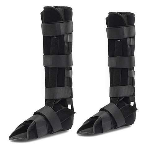 fractured ankle boot universal size neoprene steel plate fracture walker boot