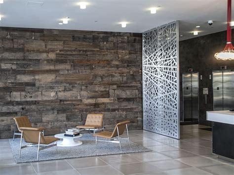 razortooth design llc architectural screens lobby feature walls lobby design decorative