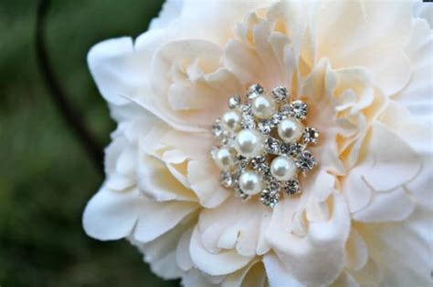 Wedding Hair Flowers Small by Wedding Flower Clip Flower For Hair Small Peony Flower