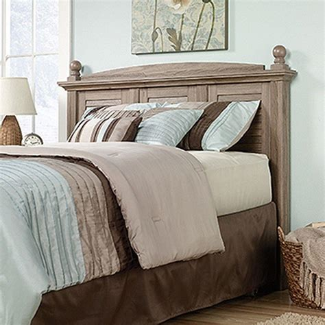 sauder headboard sauder harbor view salt oak headboard 415002