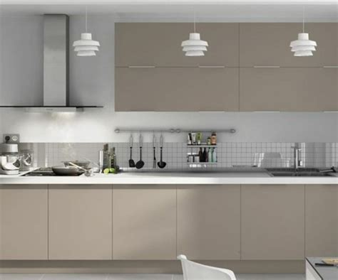 Meuble Cuisine Taupe by Cuisine Taupe 51 Suggestions Charmantes Et Tr 232 S Tendance