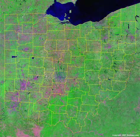 map of ohio ohio county map