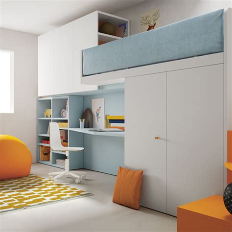 Modern Bunk Bed With Desk Modern Bunk Beds With Desk And Staircase