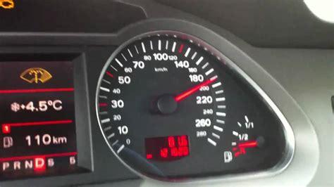 Fehlermeldung Audi A6 by Audi A6 3 0 Tdi 224 Ps 100 200 Kmh Acceleration Youtube
