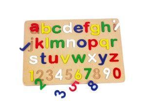 Alfabet Dan Angka puzzle alfabet angka pt kualita mediatama jual