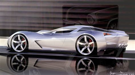 future corvette stingray corvette stingray concept supercar sketches