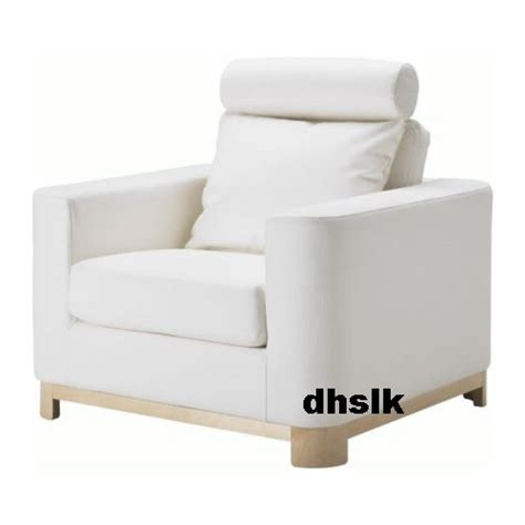 white armchair slipcover ikea s 196 len salen armchair chair slipcover cover saganas