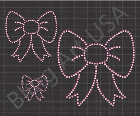 how to make rhinestone templates bow rhinestone downloads ribbon patterns templates cheer