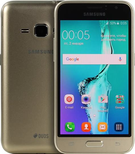 Samsung J1 Gold samsung galaxy j1 2016 sm j120f gold 8