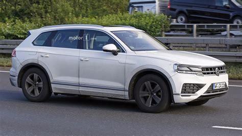 Volkswagen Tourag by 2018 Volkswagen Touareg внешность раскрыта