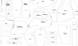 wolverine full armor foam templates from xiengprod on etsy