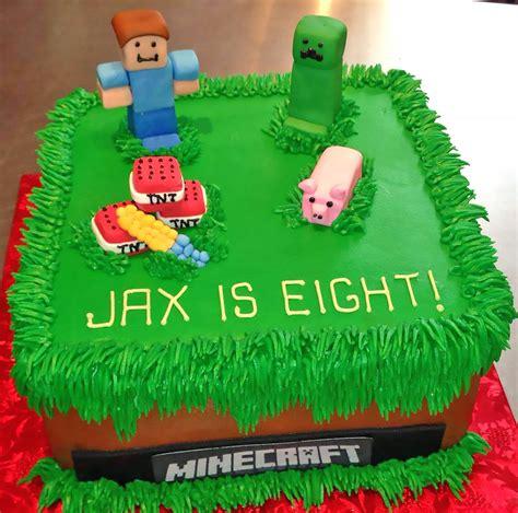 minecraft cake designs minecraft birthday cakes on design cakes