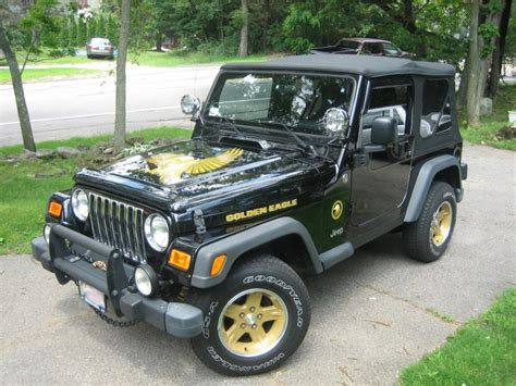 2006 jeep golden eagle exclusive jeep wrangler golden eagle 75th anniversary