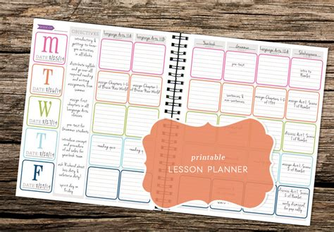 free printable school planner 2016 7 best images of 2016 printable planner agenda free