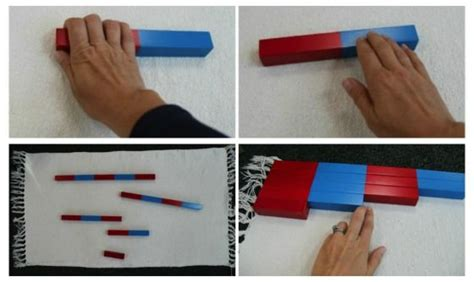 printable montessori rods 17 best images about 47 belki numeryczne on pinterest