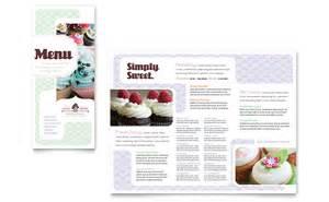 cupcake menu template bakery cupcake shop menu template word publisher