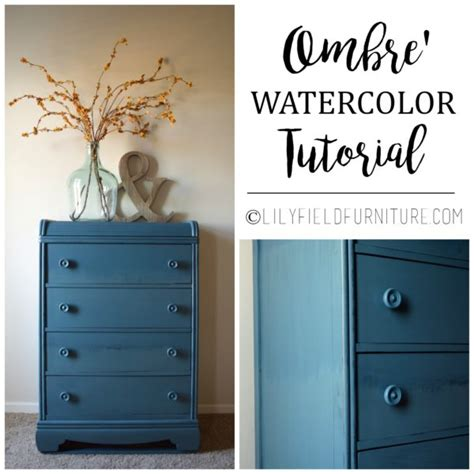 Watercolor Ombre Tutorial | uncategorized archives lily field co