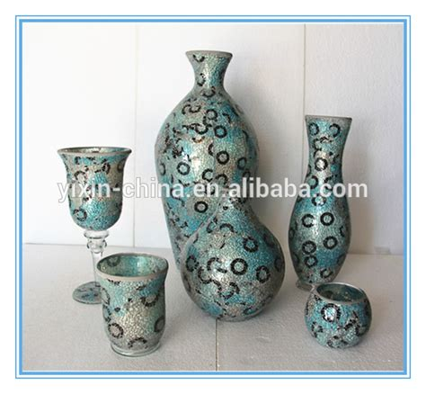 Different Kinds Of Vases by Different Types Glass Mosaic Crackle Glass Flower Vase