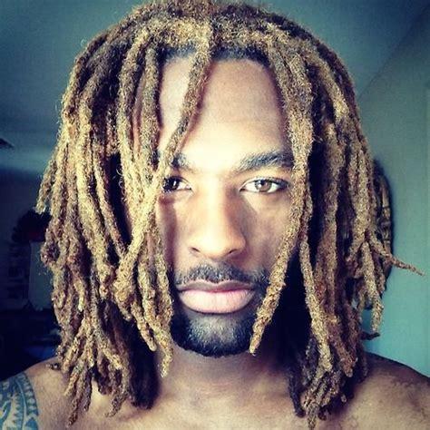 black guys dreaded dyed tips 58 black men dreadlocks hairstyles pictures dreadlocks