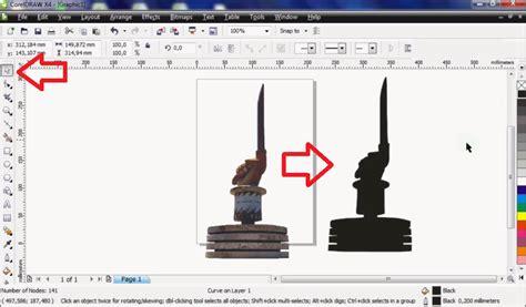 cara membuat objek transparan di corel draw x4 cara membuat gambar transparan corel x4 cara membuat
