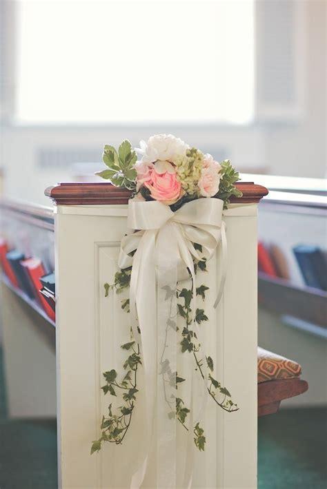 best 20 pew decorations ideas on wedding pew
