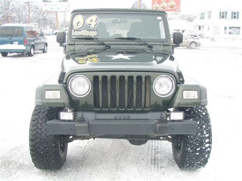 2004 Jeep Wrangler Willys 2004 Jeep Wrangler Willys Edition In Mishawaka In Autoworks