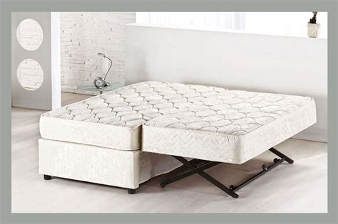 trundle pop up bed xl twin platform bed frame with trundle