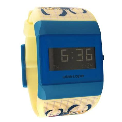 Wize Ope Watches Wo Oym 3 Watches wize ope unisex lowrider digital wo lr 3 with blue
