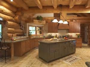 Log Home Kitchen Ideas Decoration Log Cabin Decorating Ideas Pictures With
