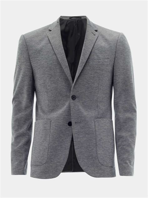 Gray Blazer by Grey Jersey Blazer Burton