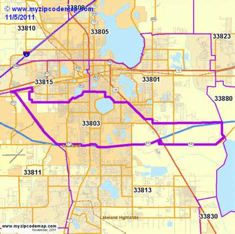 lakeland florida zip code map zip code map of 33803 demographic profile residential