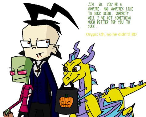 zadr comic halloween by chicairken on deviantart zadr and oryps halloween by tallest ariva on deviantart