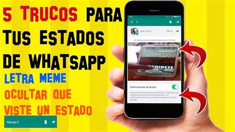 imagenes en whatsapp que cambian 5 trucos para los nuevos estados de whatsapp que seguro no