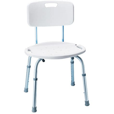 bath and shower chairs carex adjustable bath and shower seat with back walmart