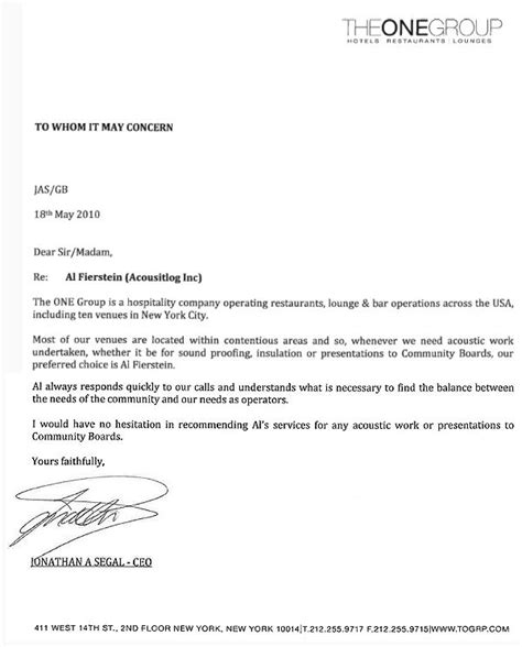 Thank You Letter Hospitality Thank You For Your Hospitality Business Letter Exle