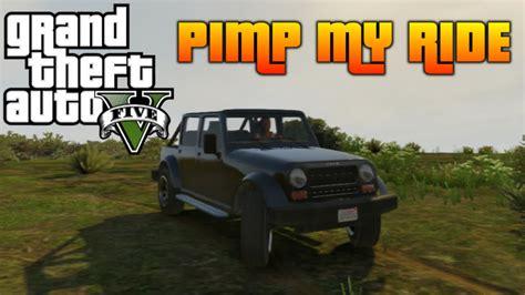 pimp my ride jeep wrangler gta 5 pimp my ride 92 canis mesa jeep wrangler